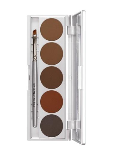Kryolan Eyebrow Powder Palette 5 Colors Renkli